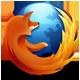 Firefoxのアイコン画像