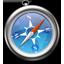 Safariのアイコン画像