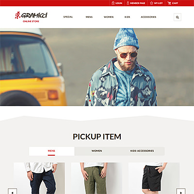 Gramicci Online Store
