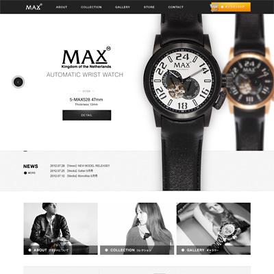 MAX XL WATCHES オフィシャルサイト